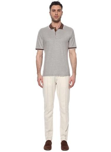 NetWork Erkek 1074722 Slim Fit Polo Yaka T-shirt Kahve